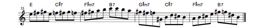 jazz sax lesson net 循環9
